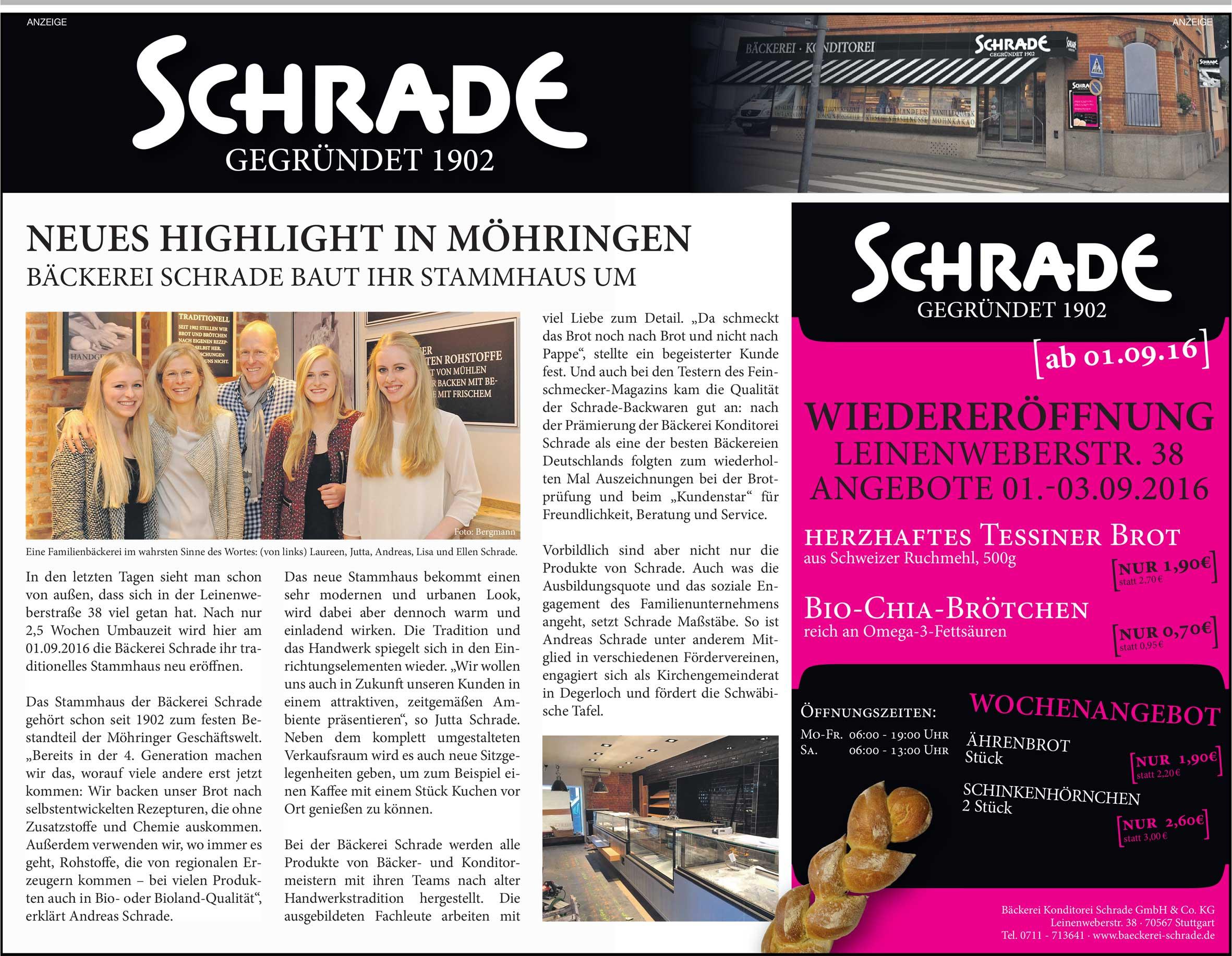Filder-Zeitung_30.08.2016-Wiedereroeffnung-Stammhaus